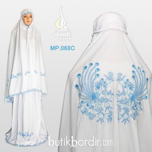 MP-068C-mukena-bordir-merak-biru-detail